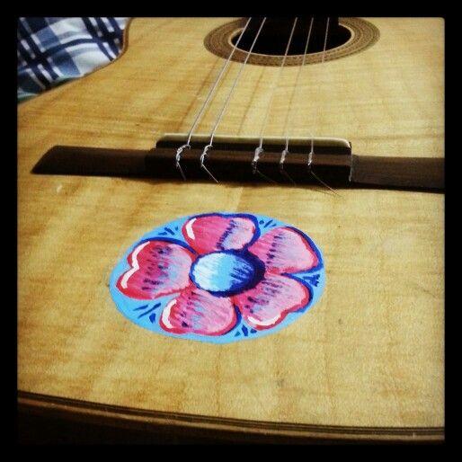 Fileteado Guitarra