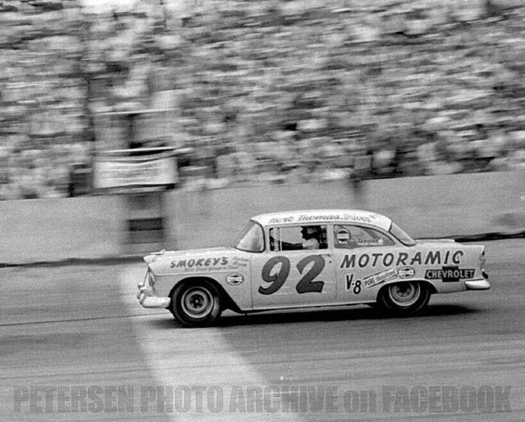 Chevy S First Big Win 1955 Southern 500 At Darlington