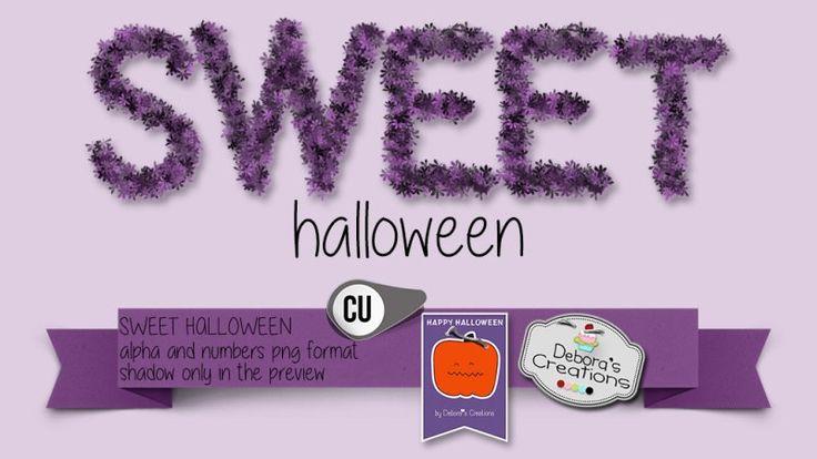 Sweet Halloween by Debora's Creations (CU)