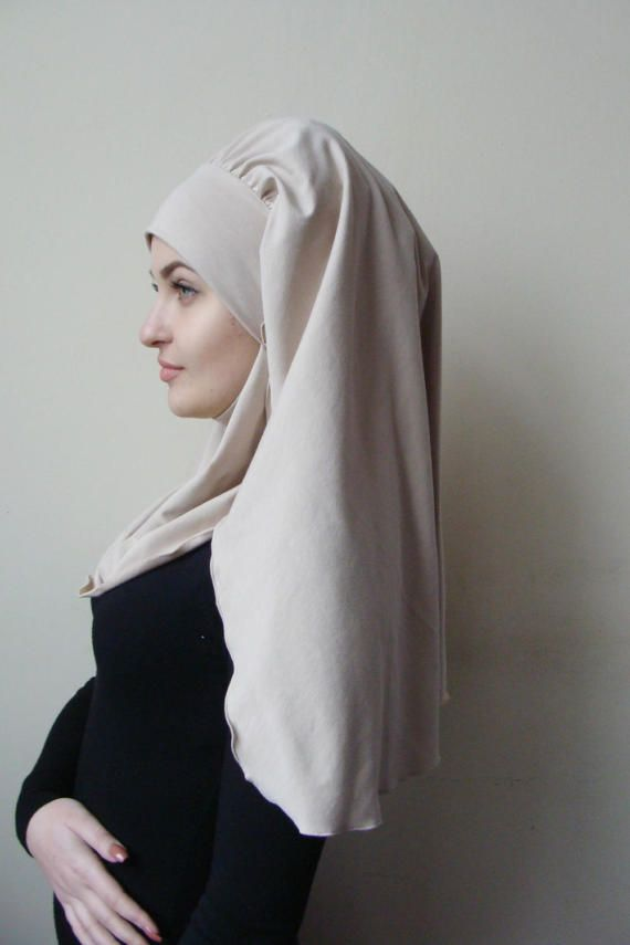 10 % de réduction transformateur volumineux barbe beige hijab
