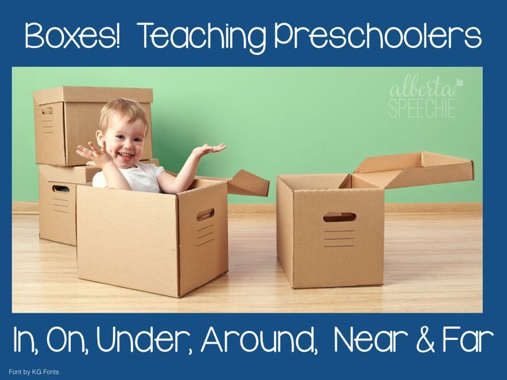 A fun way to teach prepositions and expand play skills.