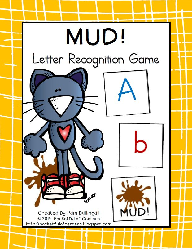 Groovy Cat Letter Recognition Game