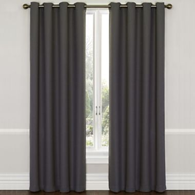 Eclipse Westbury Grommet Top Blackout Curtain Panel With Thermaweave Jcpenney House And