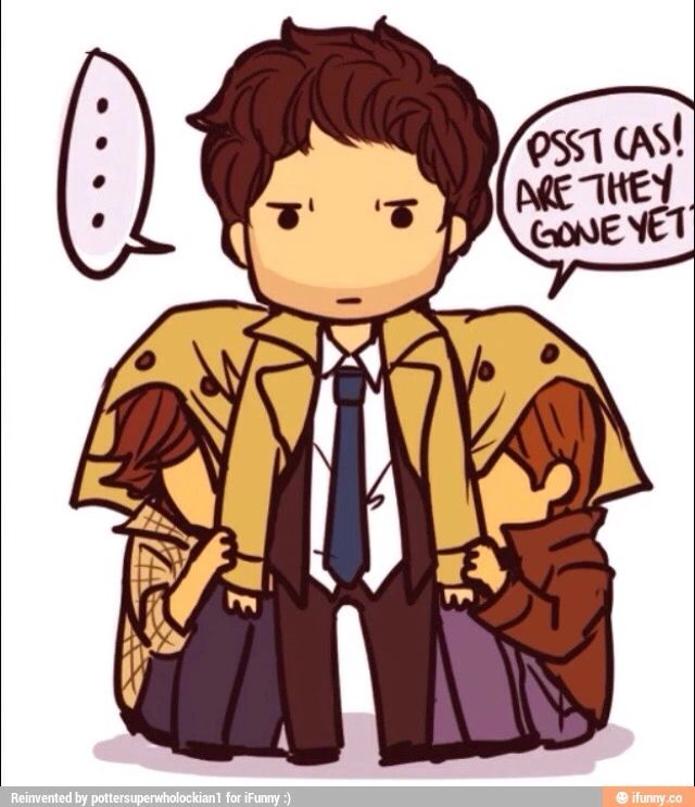 Dean's Guide On How To Hide From Monsters: 1. Under Cas