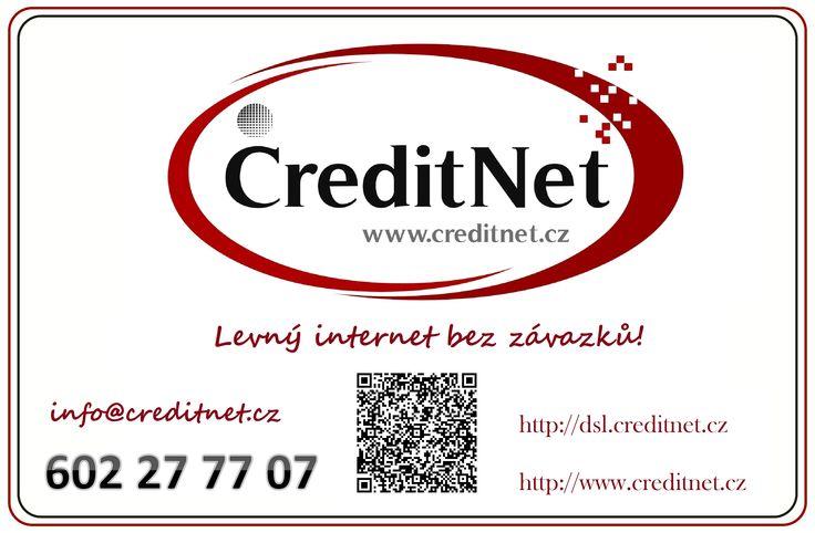 levný internet bez závazků wifi Mnichovice dsl ČR http://www.creditnet.cz