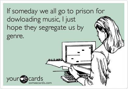 PLEASE segregate us by genre!