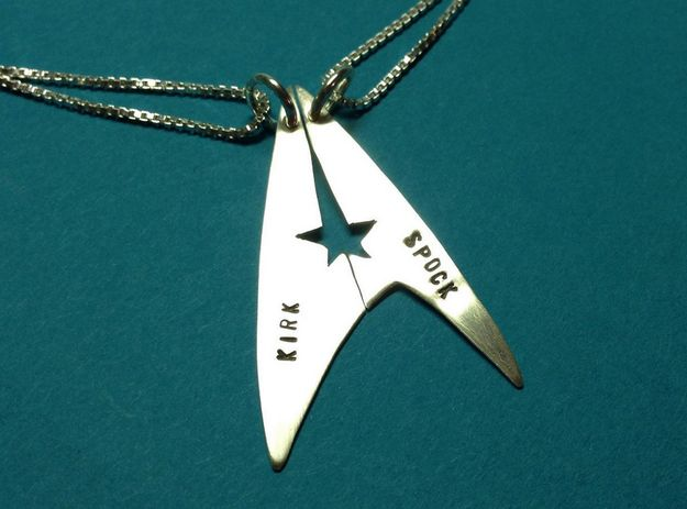 Star Trek Necklaces | 38 Friendship Necklaces That Will Make You Glad You Have A BFF | omg