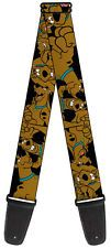 Scooby Doo Comedy Cartoon Series TV Show Scooby Collage Guitar Strap