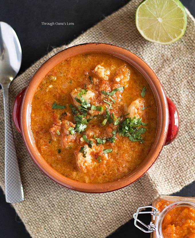Seafood ring Brazilian Foods Stew de Camaroes  gold in Adore    Moqueca