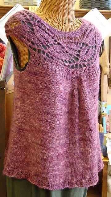 Ravelry: Ariana Shell pattern by Kathryn Ashley-Wright