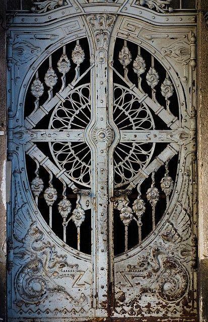 ronbeckdesigns: Doors | Budapest unknown