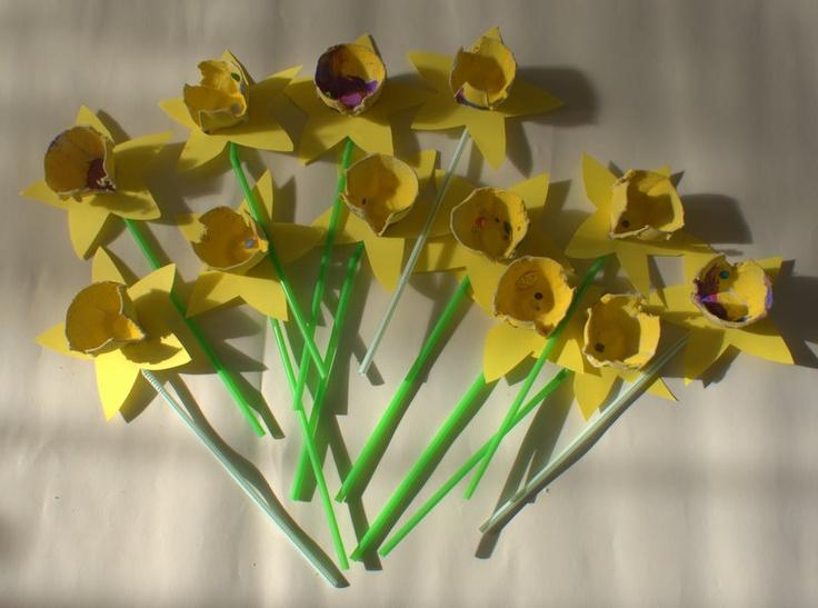 Taming the Goblin: St David's Day - DIY Daffodils
