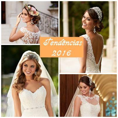 Tendências de 2016   Vestidos de Noiva