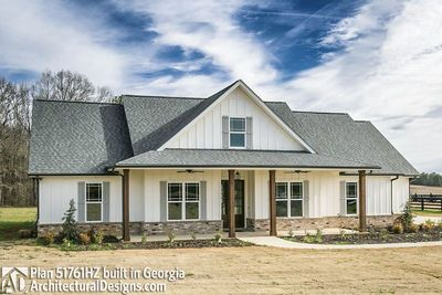 Classic 3 Bed Country Farmhouse Plan - 51761HZ thumb - 03