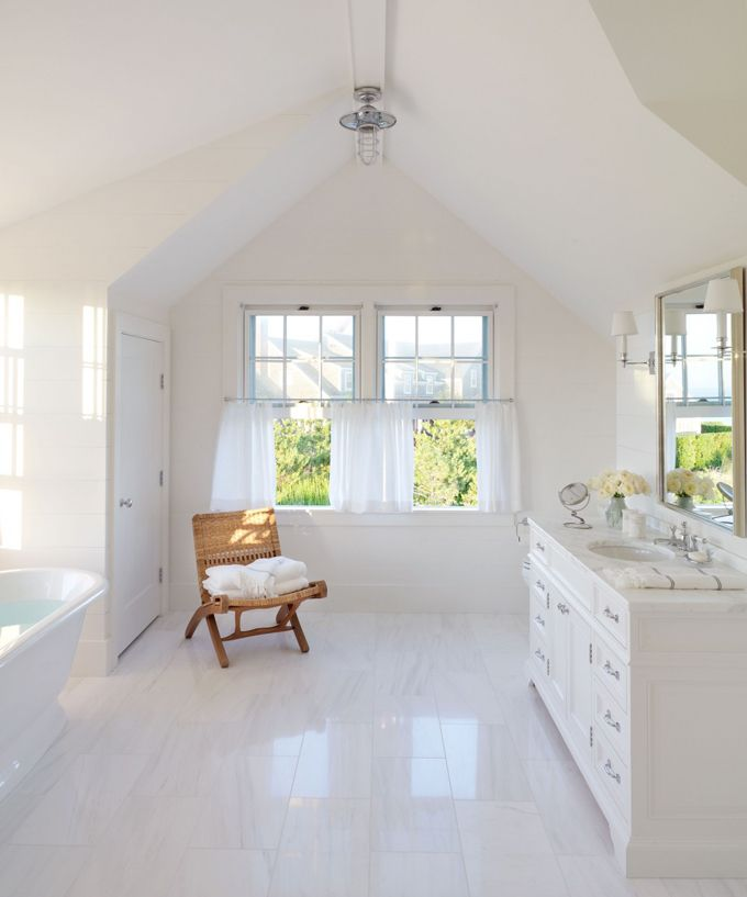 white bathroom | Victoria Hagan Interiors