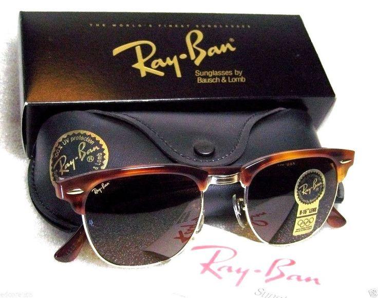 ray ban clubmaster ebay