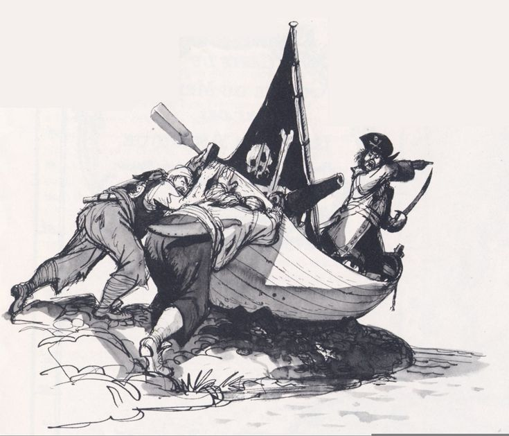 Marc Davis Disney Pirates Concept