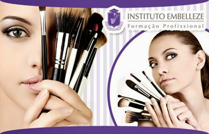 Blog da Zuca: Curso de Maquiagem Embelleze - Primeira aula