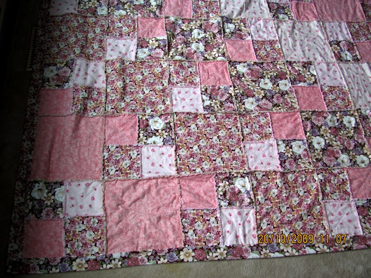 Example. Rag Quilt can be be made from Denim or flannel, you choose the size and color. marilynpearson2@gmail.com