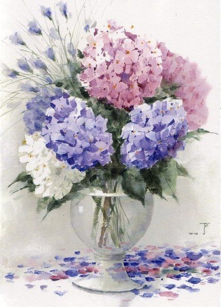 1000 Images About Flower Art On Pinterest Pansies