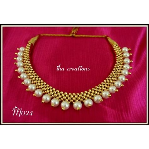 Online Shopping for TRADITIONAL MAHARASHTRIAN Vajratik   Necklaces   Unique Indian Products by Iha Creations - MIHA 70182319520