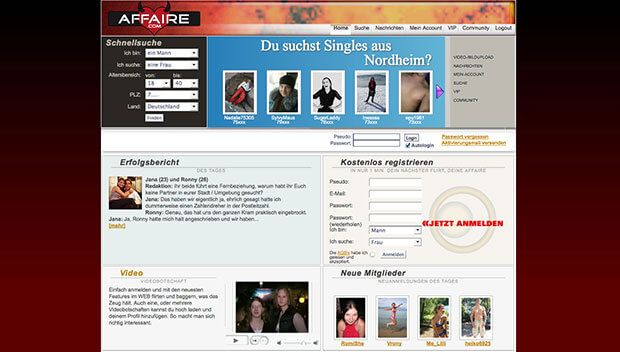 Dating portal site