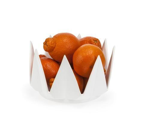 Geometric Crown Bowl