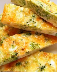 Cheese And Broccoli Eggy Fingers