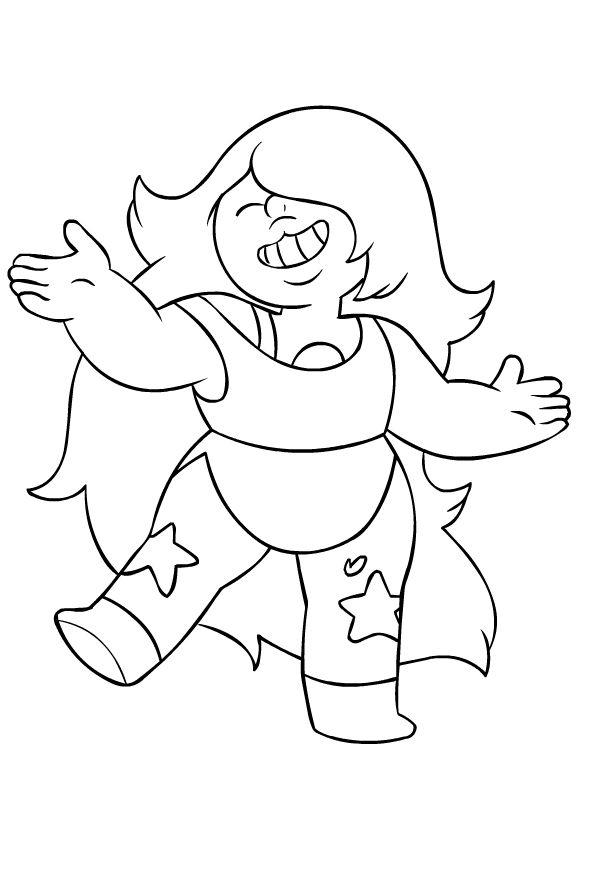 Steven Universe Coloring Pages Best Coloring Pages For Kids Steven Universe Drawing Coloring Books Amethyst Steven Universe