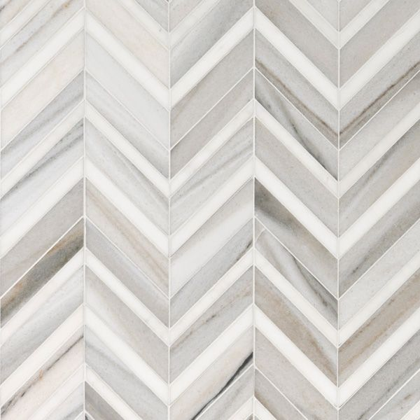 Skyline Light Honed Amp Polished 30 5x29 Chevron Fusion Marble