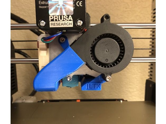 Prusa i3 MK3 - Cooling with a view by jltx - Thingiverse