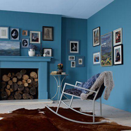Peintures bleues de Dulux Valentine - marieclairemaison.com