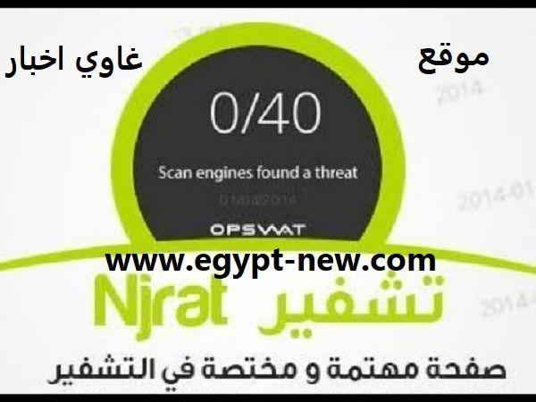 غاوي اخبار تشفير سيرفر نجرات وتخطي حماية ويندوز 2020 Crypt Nj Egypt News Threat Pie Chart