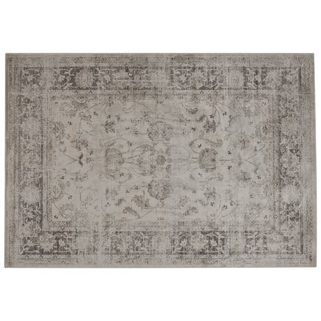 Regent Floor Rug 160x230cm Antique White comes ancient looking for the bargain price of $400
