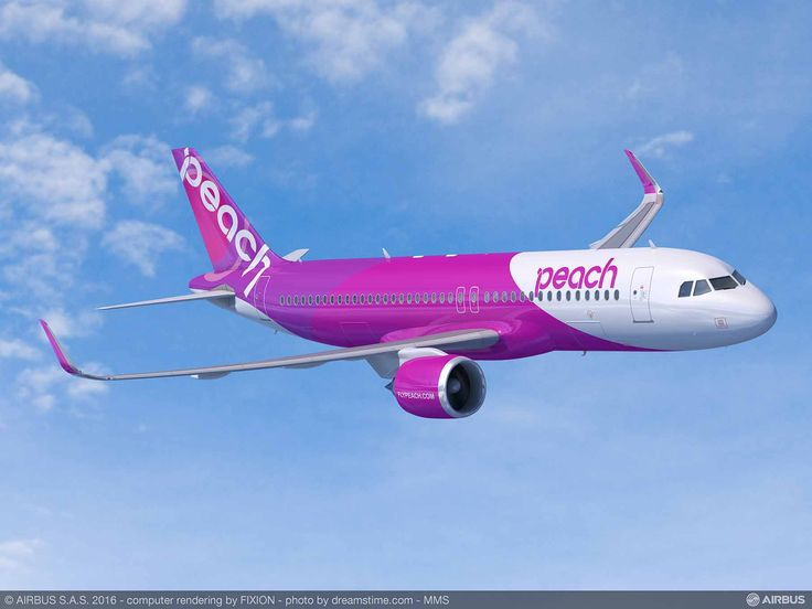 Peach Aviation Signs For 13 A320 Family via @aeroaustralia