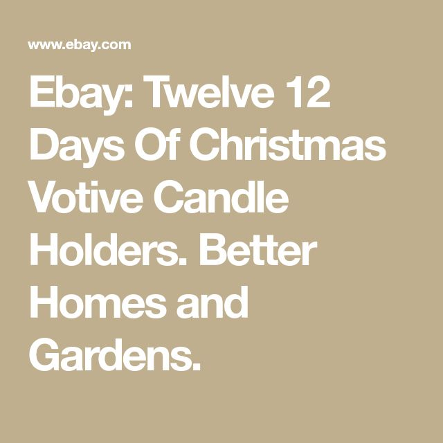 Best 25 Votive Candle Holders Ideas On Pinterest Mercury Glass Decor Mercury Glass Candle: better homes and gardens diffuser