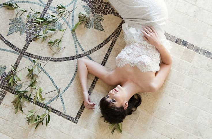 Wedding Dress by Janita Toerien Photo By Claire Harries Photography
