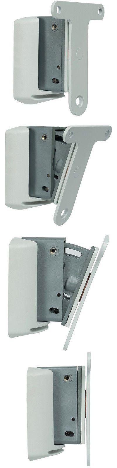 Speaker Mounts and Stands: Flexson White Wall Bracket Mount For Sonos Speakers, Tilt Rotate Swivel - White -> BUY IT NOW ONLY: $49.99 on eBay!