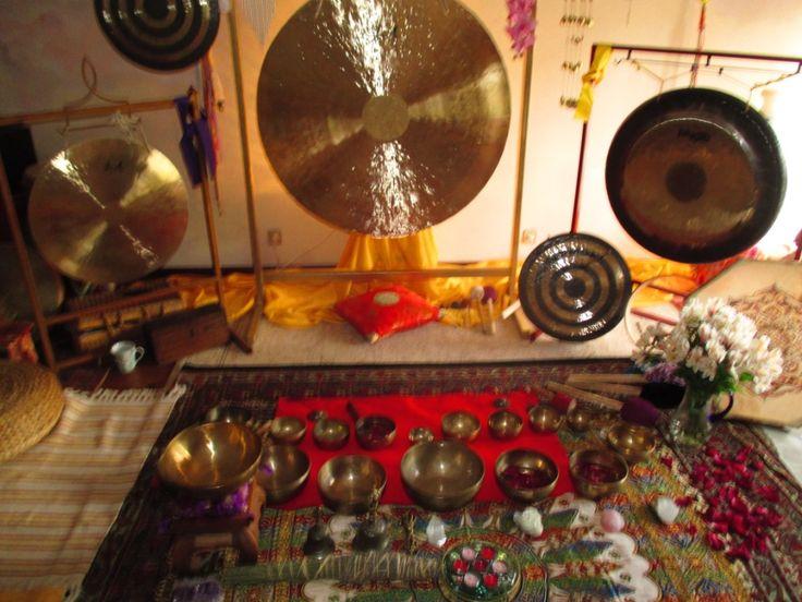 Taças Tibetanas, room therapy Quinta da Nogueira, Bolo