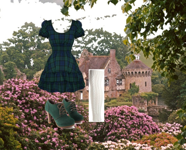 """Burns Night outfit"" by megan-wills ❤ liked on Polyvore"