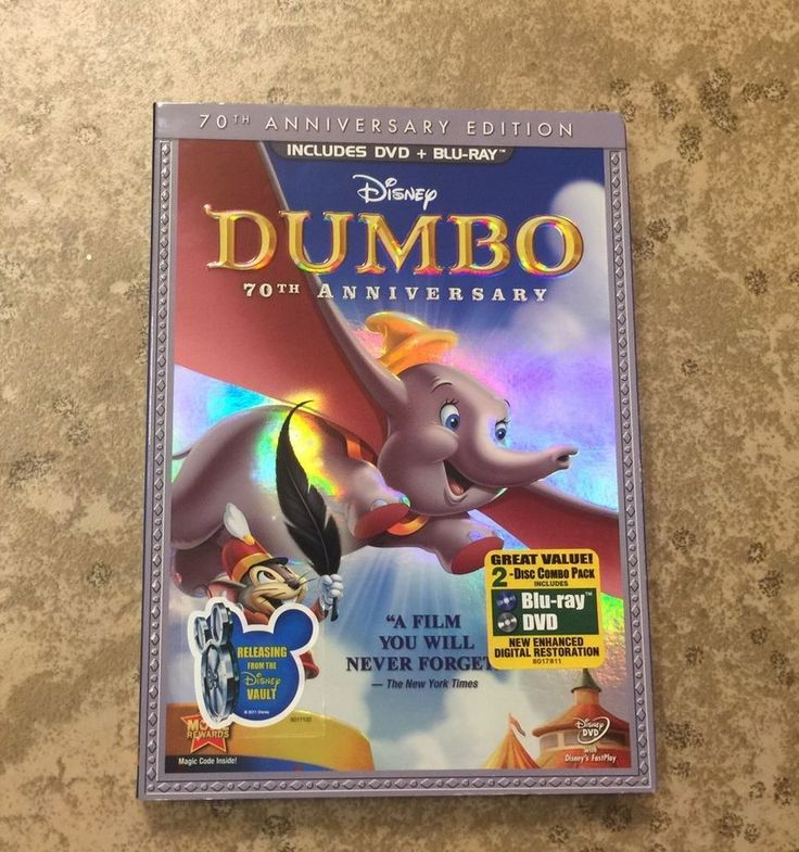 Disney Dumbo DVD 75th Anniversary 2 Disc Set