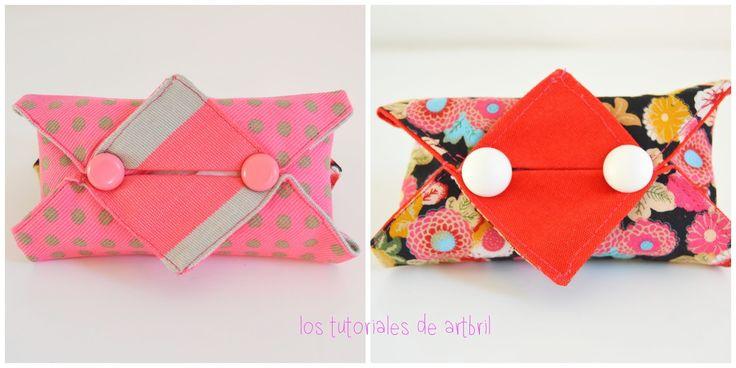 los tutoriales de artbril: DIY de costura en 10 minutos - Partapañuelos/clinex
