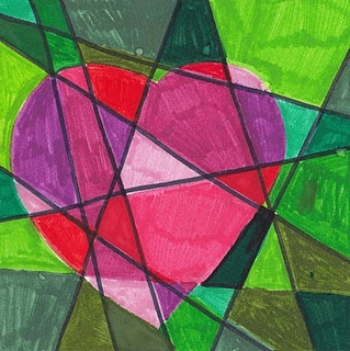 Jim Dine Break up space.....markers.
