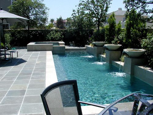 HOLY POOL!Lap Pools, Swimming Pools, Small Pools, Small Backyards, Landscapes Design, Design Studios, Pools Ideas, Pools Design, Small Yards