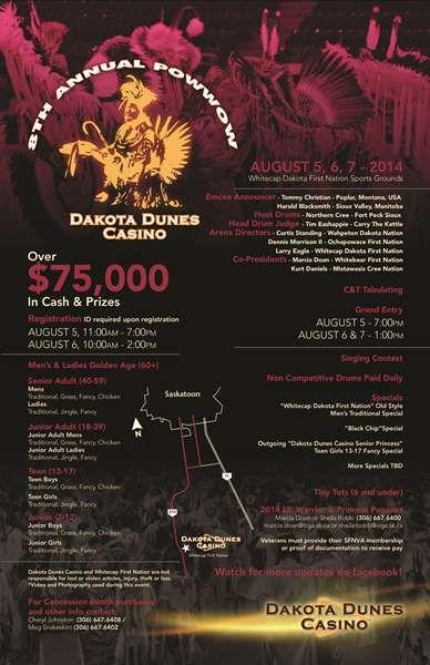 8th Annual Powwow Dakota Dunes Casino