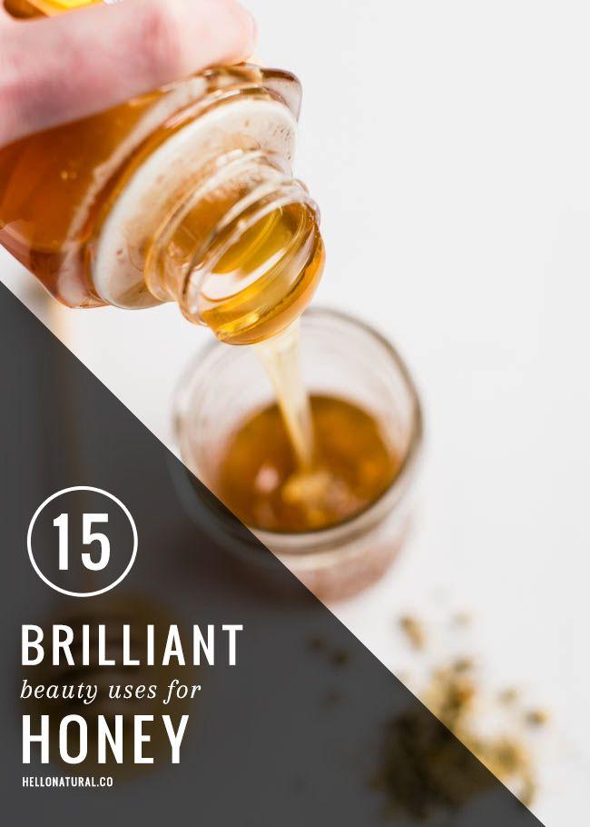 15 Brilliant Beauty Uses for Honey | http://hellonatural.co/15-brilliant-beauty-uses-for-honey/