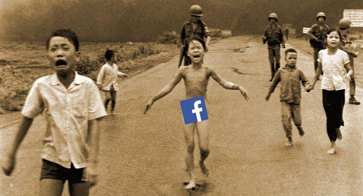 Après avoir censuré la Première ministre de Norvège, Facebook revoit sa politique