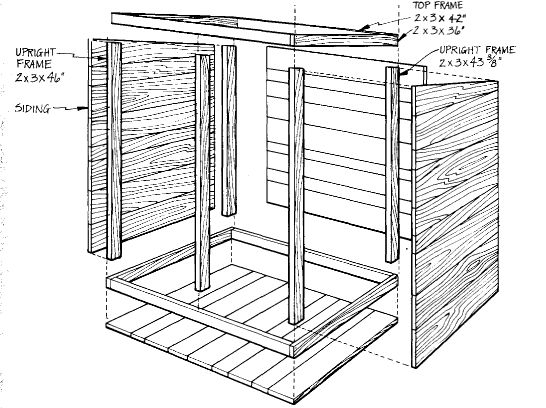 SMOKEHOUSE PLANS (from wood pallets)