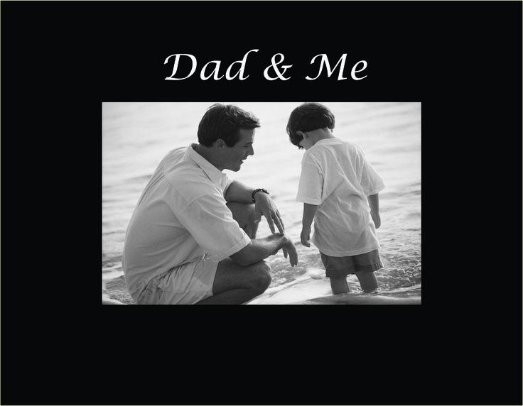 "Dad & Me 4""x6"" Photo Frame"