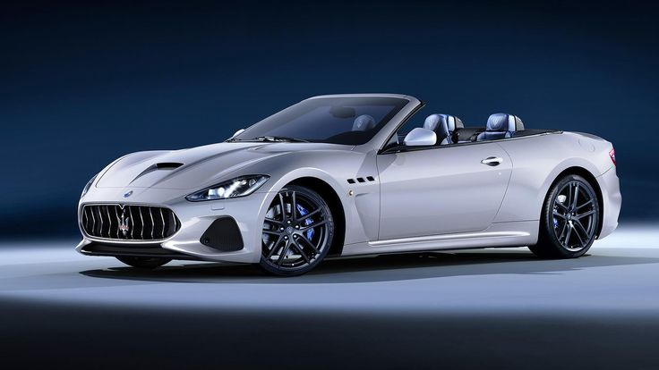 2018 Maserati GranTurismo Convertible know in Europe as the GranCabrio debuts at Goodwood Festival of Speed.